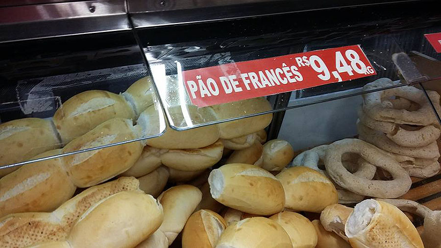 """Pão """"de"""" francês"""