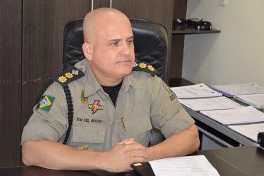 Tenente-Coronel Ricardo Rocha de assumiu oficialmente ontem o Comando do Policiamento da Capital (CPC)