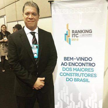 Presidente da HF Engenharia, Hwaskar Fagundes , recebeu a premiação ontem em São Paulo