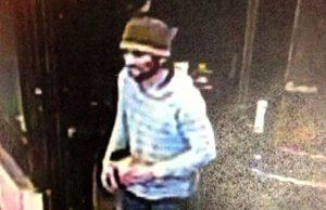 Câmera de segurança mostra homem que usou cartão de crédito de Paulo três dias depois do desaparecimento: polícia não conseguiu prender suspeito (Foto: San Francisco Police Department)