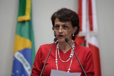 Berenice Piana: embaixadora da paz pela ONU estará em Goiânia (Foto: agenciaal.alesc.sc.gov.br)