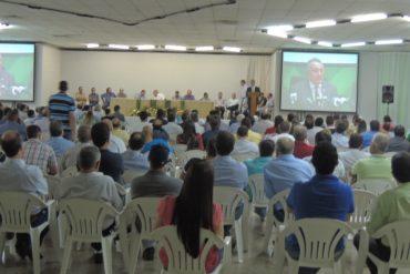 Cerca de 400 produtores da região participaram da reunião (Foto: Sindicato Rural de Rio Verde)