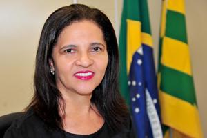 Juíza da Vara de Família e Sucessões da comarca de Rio Verde, Coraci Pereira da Silva (Foto: TJ-GO)