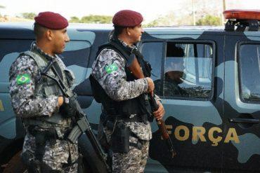 Policiais foram presos pela Força Nacional (foto) em 2014