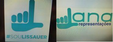 Logo de pré-campanha é idêntico à marca de empresa local