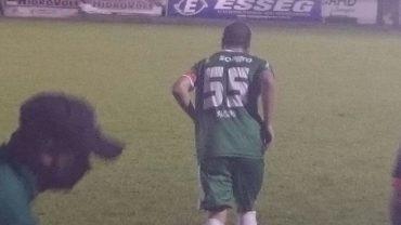 Marzagão acrescentou um '5' a mais na camisa