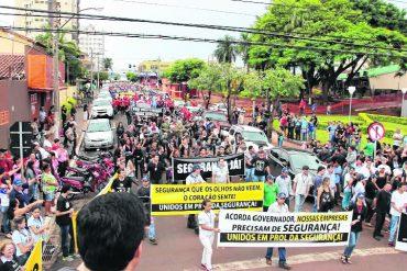 Protesto no ano passado (foto) reuniu mais de 3 mil pessoas. Nova manifestação deve ser ainda maior