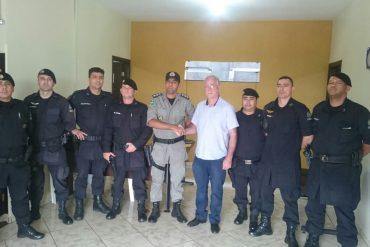 Prefeito eleito cumpriu agenda com o comando da PM, GPT, Polícia Civil e Corpo de Bombeiros