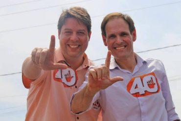 Companheiros de chapa na eleição municipal, Karlos e Lissauer serão os representantes de Rio Verde na Assembleia