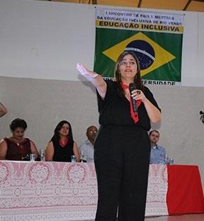 Segundo Mylena, trecho da sua fala foi tirado do contexto e divulgado isoladamente com o intuito de prejudicá-la (Foto: Secretaria Municipal de Educação)