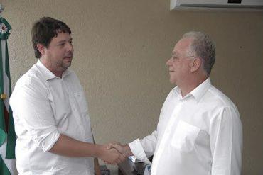 Paulo do Vale reforçou temas já abordados com o governador, como a necessidade urgente de transferência da CPP do centro da cidade (Foto: Renato Guerreiro/Prefeitura de Rio Verde)