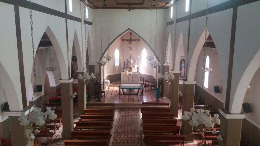 Templo foi reformado e restaurado em 2007