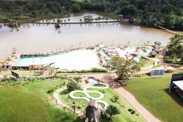 Silvestre Park está localizado em uma área de 600 mil m² de mata preservada