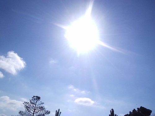 Até domingo (3), a temperatura máxima deverá ser de 35° e a umidade relativa do ar atinge os 24%