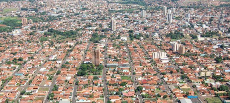 Vista aérea da cidade (Google)