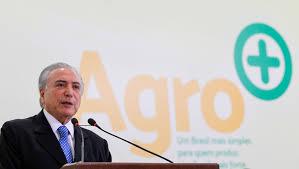 Presidente Temer em evento recente ligado ao Agronegócio no Planalto (Foto: Planalto)