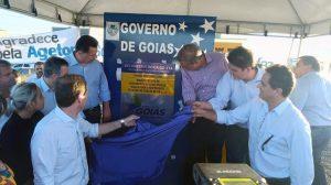 GO 174: Autoridades inauguram oficialmente obra inacabada